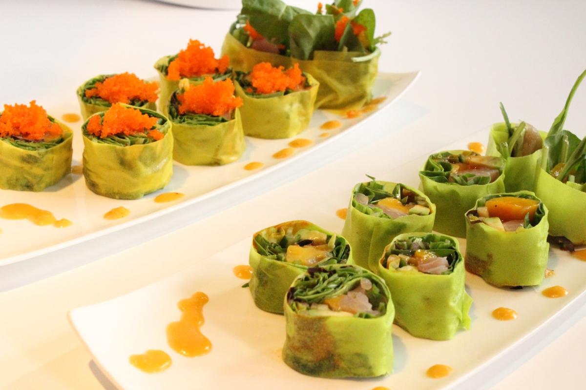 Japanese food roll sushi